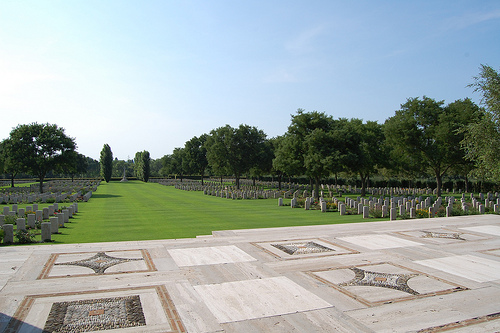 Ridge War Cemetery