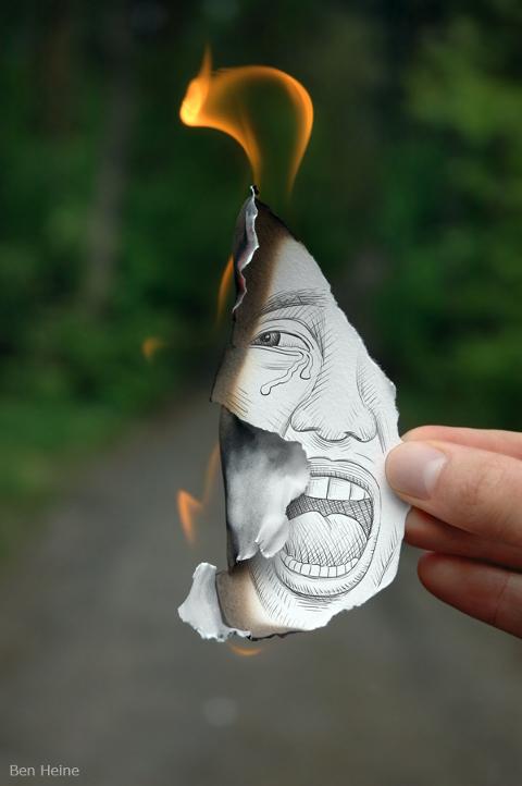 Antitesi, fuoco e lacrime