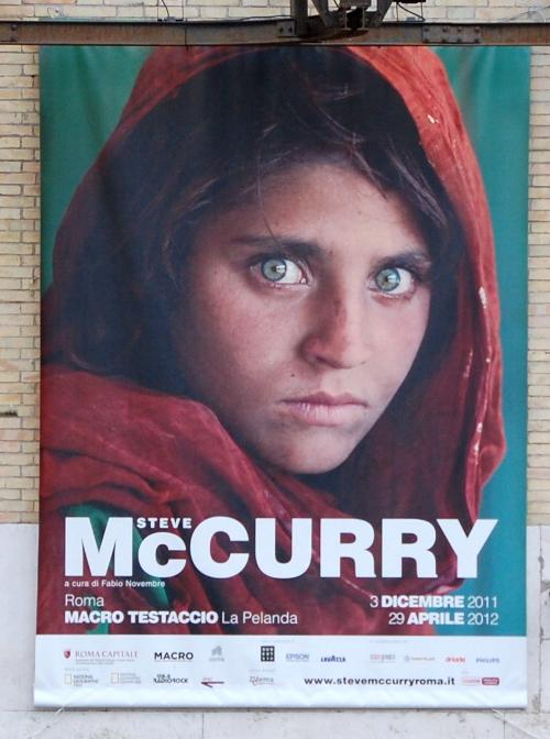 Steve McCurry - MACRO Testaccio - Roma